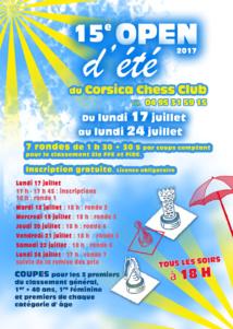 15e Tournoi d'été du Corsica Chess Club
