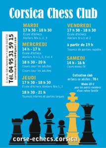Rentrée du Corsica Chess Club