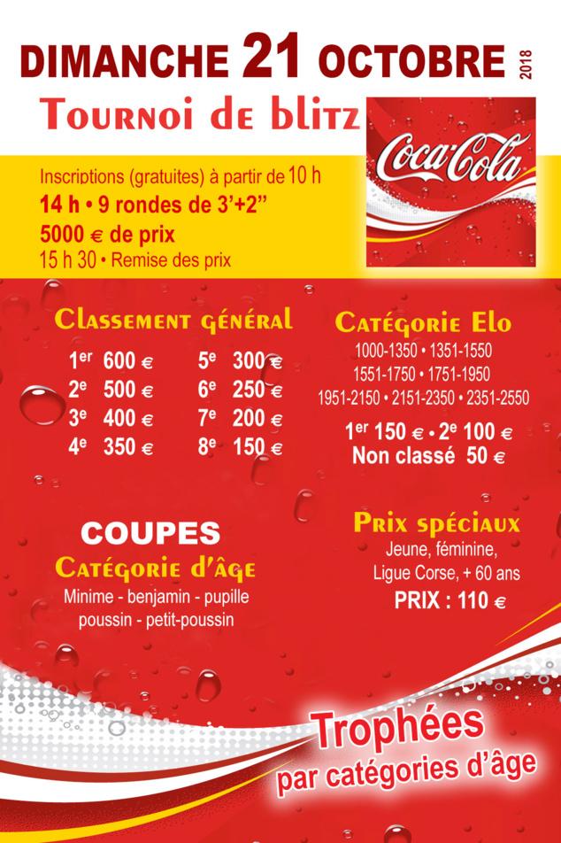 Victoire du quadruple champion du Venezuela au Blitz Coca Cola