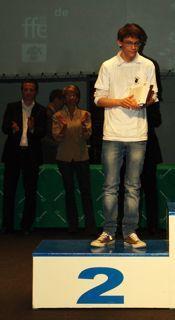 Michaël Massoni vice-champion de France