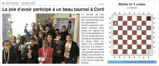 Corse-Matin du 9 février 2020
