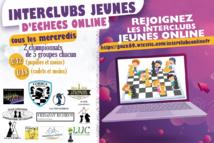 Dernière journée des Interclubs Jeunes Online ce mercredi à partir de 19h10 !