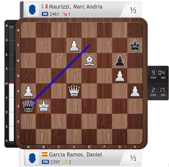 Deuxième norme de Grand Maître à 13 ans pour Marc'Andria Maurizzi !