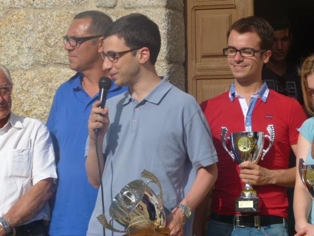 Laurent Fressinet vainqueur du 2ème Open de Quenza, devant Romain Edouard