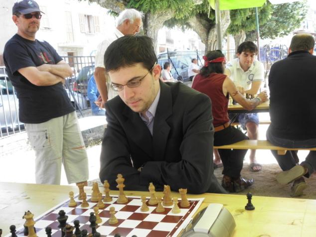 Maxime Vachier Lagrave vainqueur de l'Open 2011