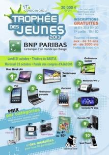5e édition des trophées des jeunes BNP Paribas à Bastia et Aiacciu