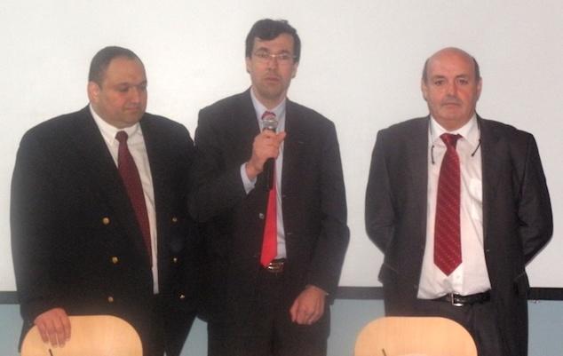 Diego Salazar, Henri Carvallo (ancien président FFE), Léo Battesti