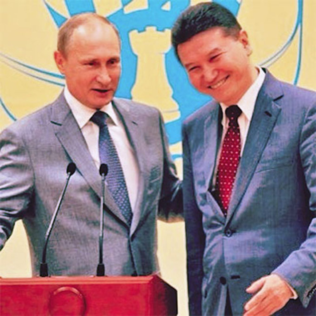 L'homme de Poutine aurait-il bénéficié du soutien fédéral pour son élection à la Présidence de la FIDE ?