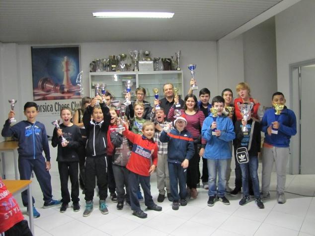 Beau succès du tournoi Corse-Frêt de Noël avec 120 participants !