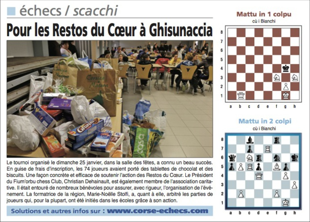 Corse-Matin du 1er Février 2015