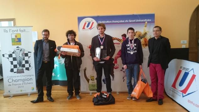 Thibault Luciani Vice-Champion de France universitaire !