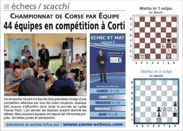 Corse-Matin du 19 avril 2015