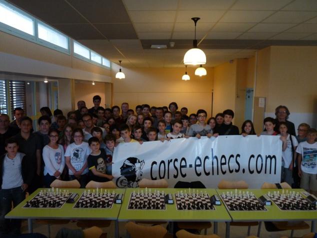 Giraud Champion de Corse des collèges !