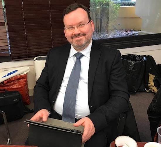 Stéphane Escafre, Président de la FFE