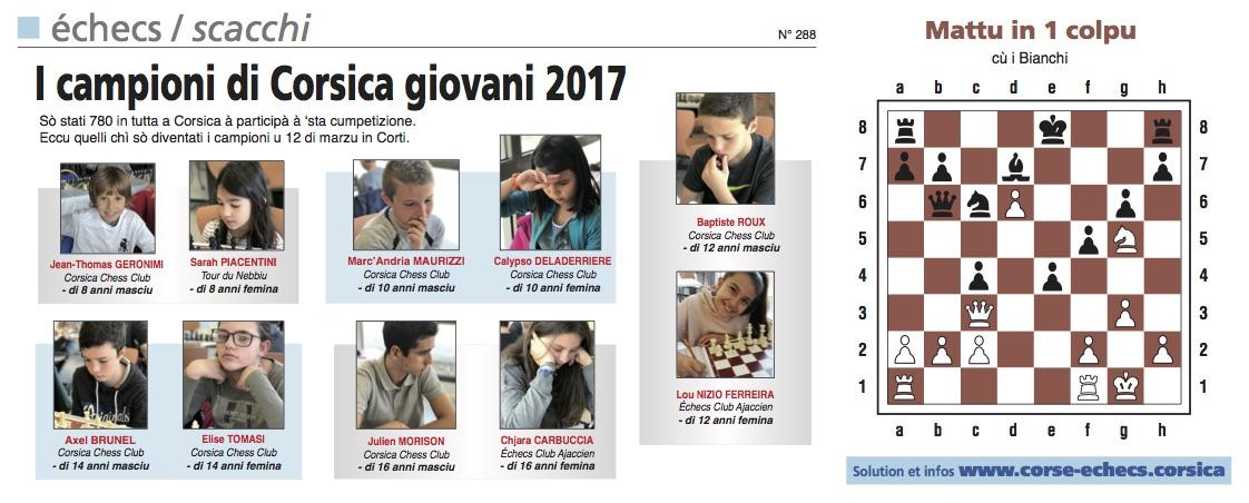 Corse-Matin du 19 mars 2017