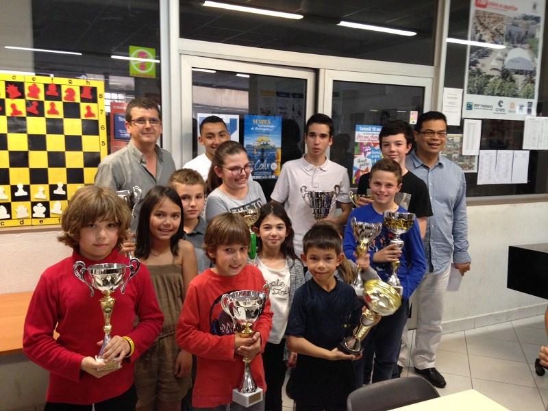 Le Corsica Chess Club a fêté ses champions et vice-champions de Corse
