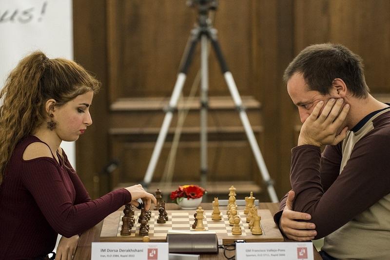Francisco Vallejo vs Dora Derakhshani à Open de Munich, novembre 2016