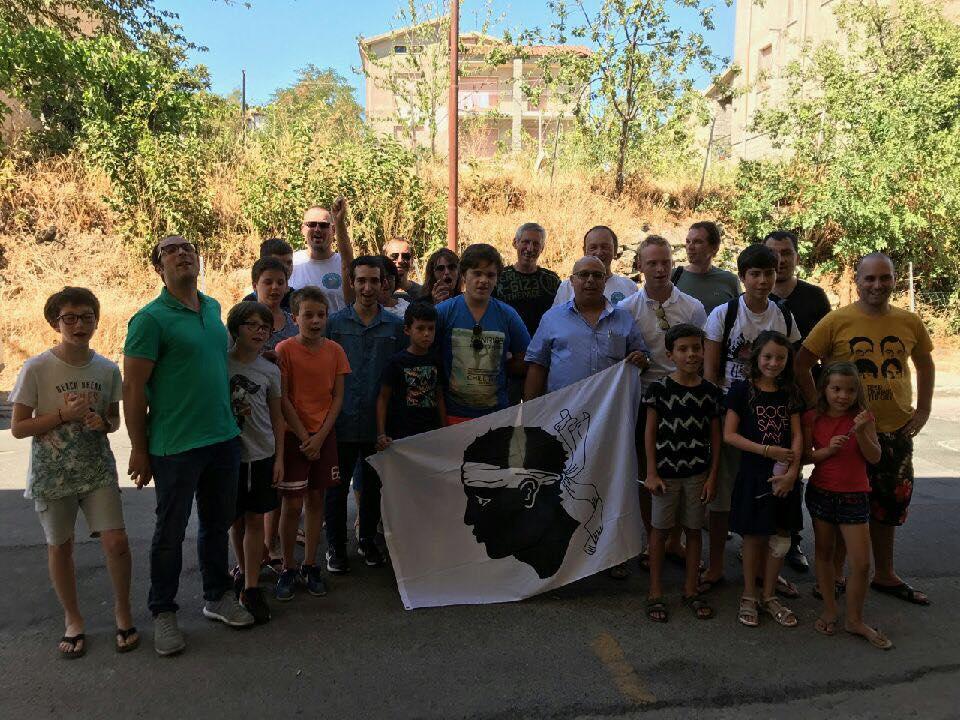 La délégation Corse à Pattada