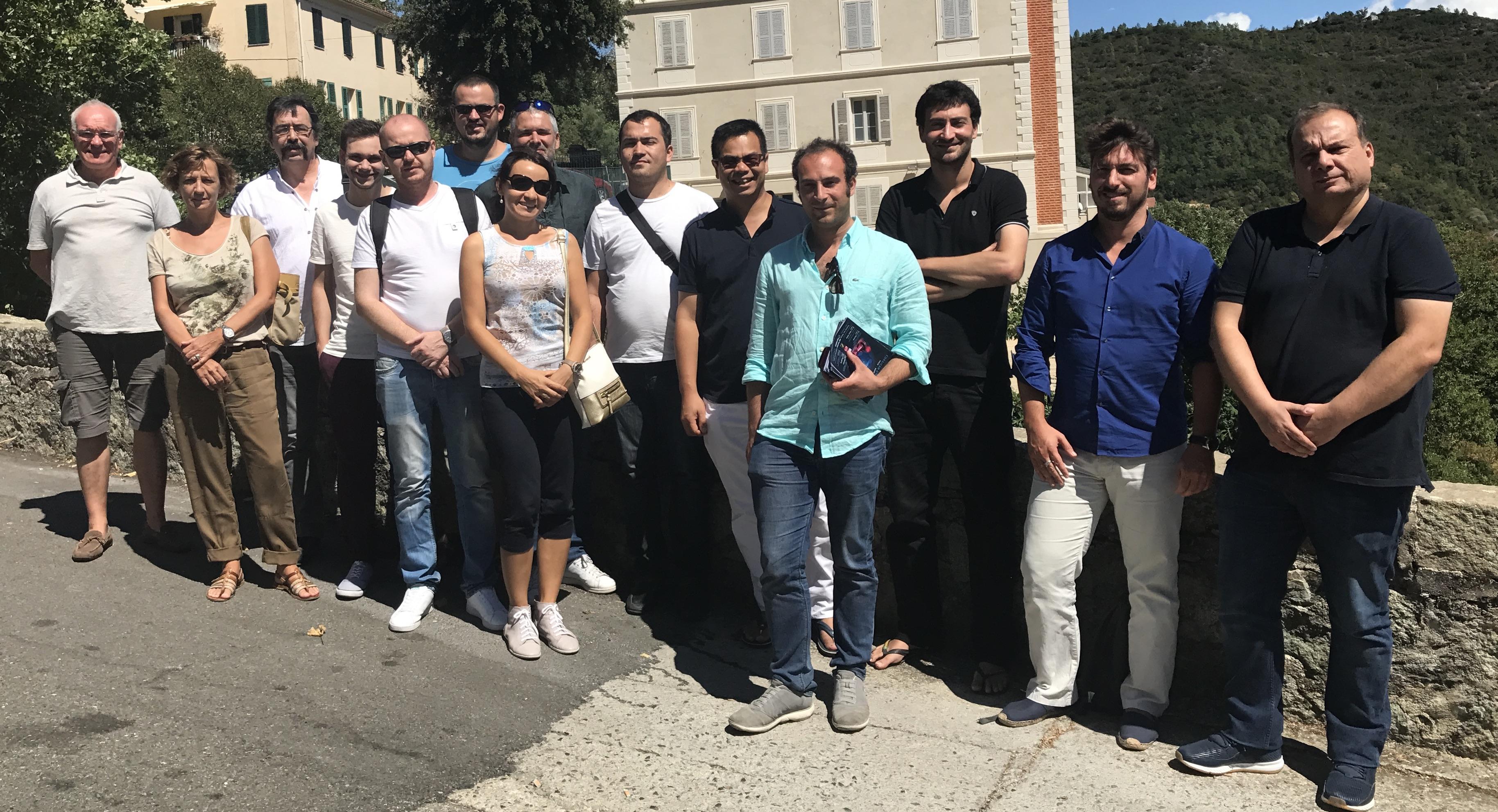 I furmatori di a Lega in seminariu in Venacu