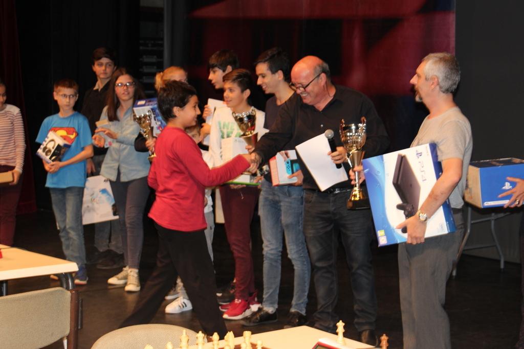 Victoire d'un jeune Turc au 1e Trophée BNP Paribas, reportage video et photos