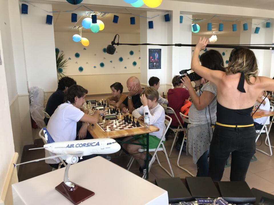 Une centaine de joueurs au blitz Air Corsica remporté par Antoine Podvin