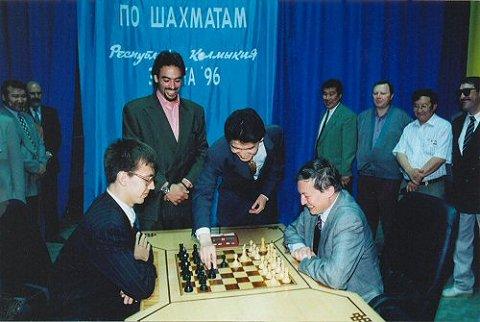 Match des candidats au titre mondial: Gata Kamsky- Anatoly Karpov