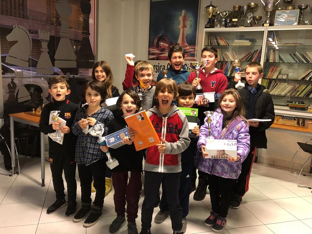 Victoire de Filipe Cardoso de Lima à l'Open de Noël du Corsica Chess Club