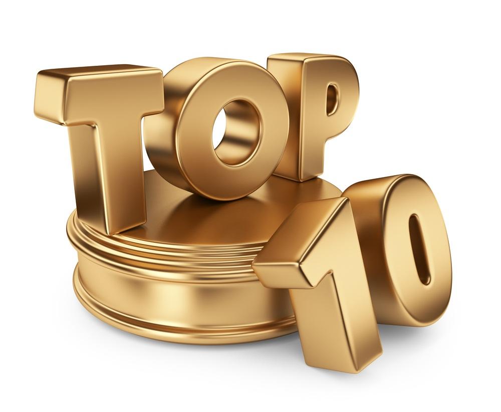 Le Top 10 et Top jeunes de ce début d'année 2018