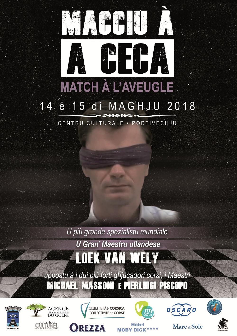 La légende néerlandaise affrontera, à l'aveugle, les deux Maîtres corses !