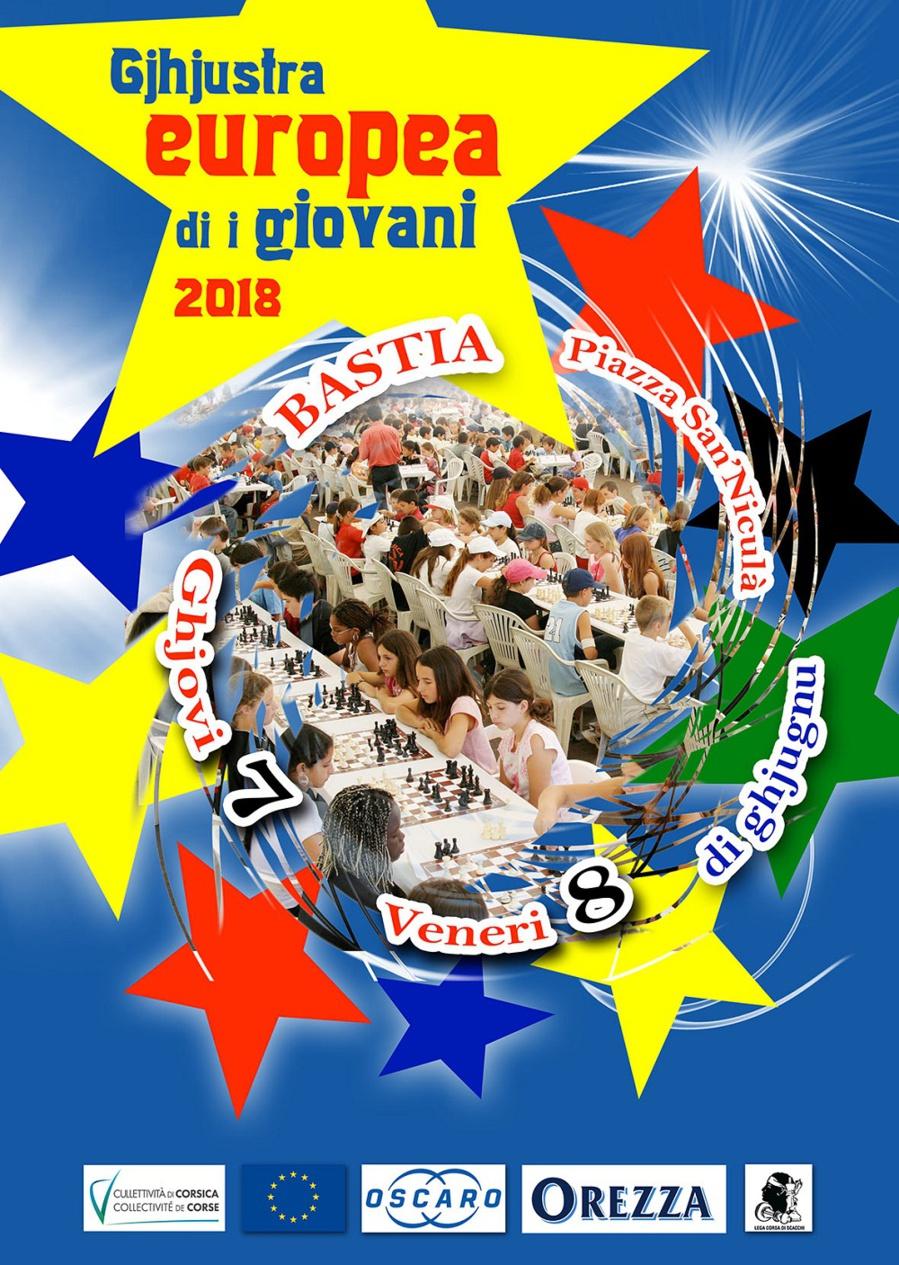 Ghjustra Europea di i giovani e 3 500 participanti per u campiunatu sculare di a Corsica Suprana 2018 !