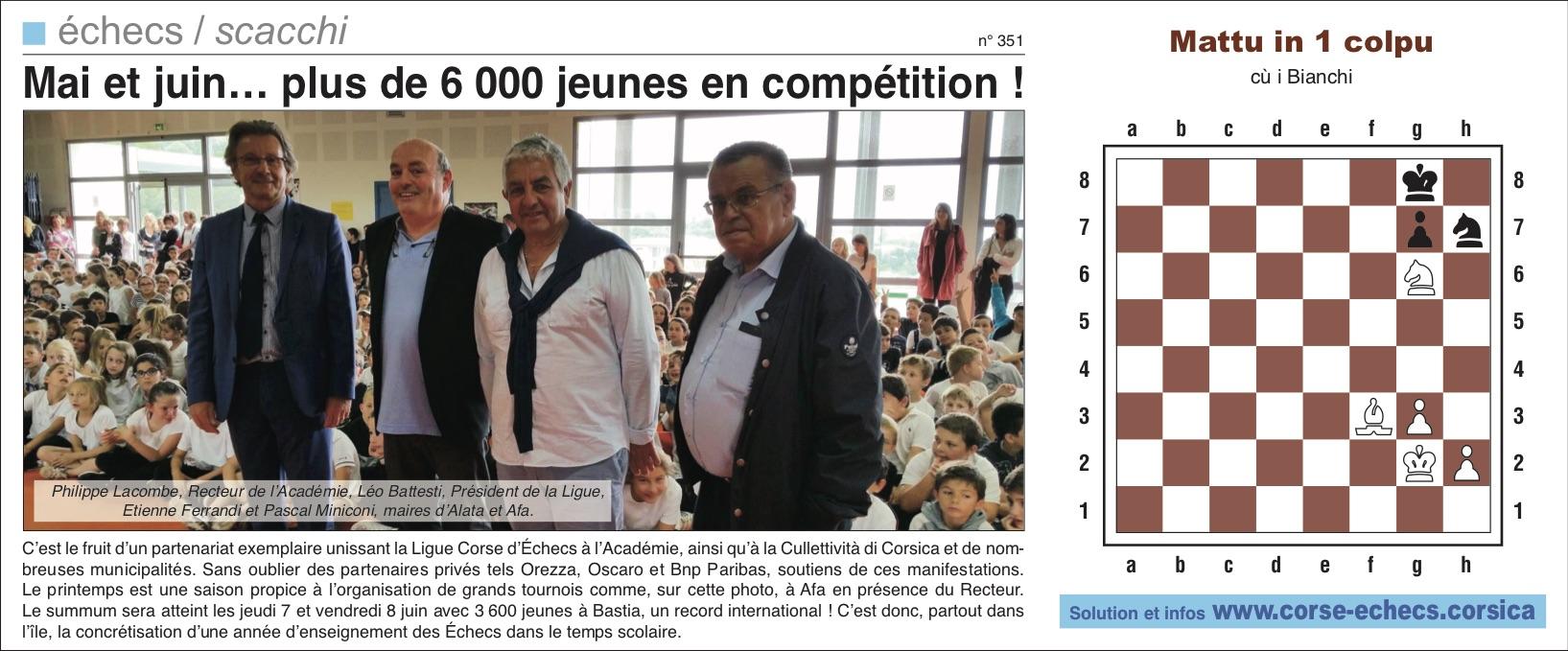 Corse-Matin du 03 juin 2018