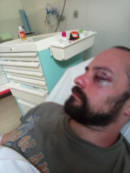 Brice Marty hospitalisé