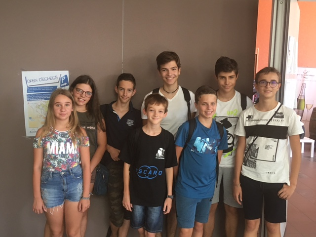 7 jeunes Corses au 33e Open International d'Avoine