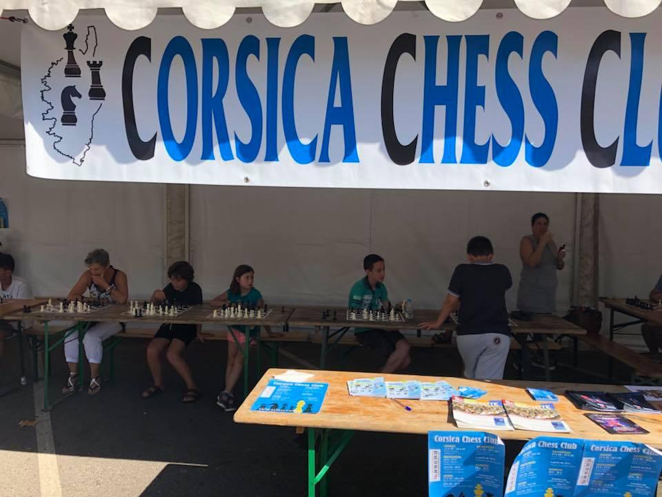 Fête du sport avec le Corsica Chess Club