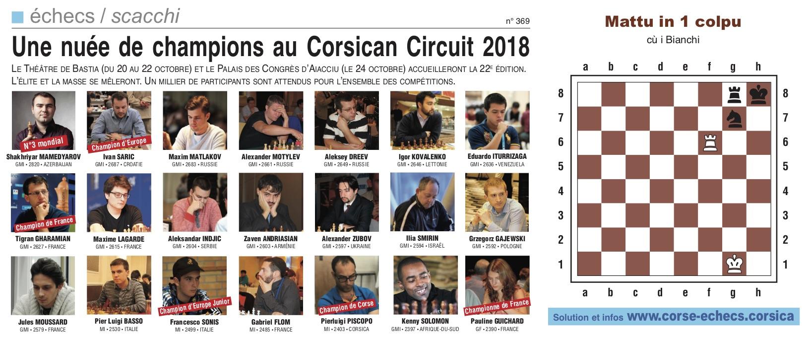 Corse-Matin du 7 octobre 2018