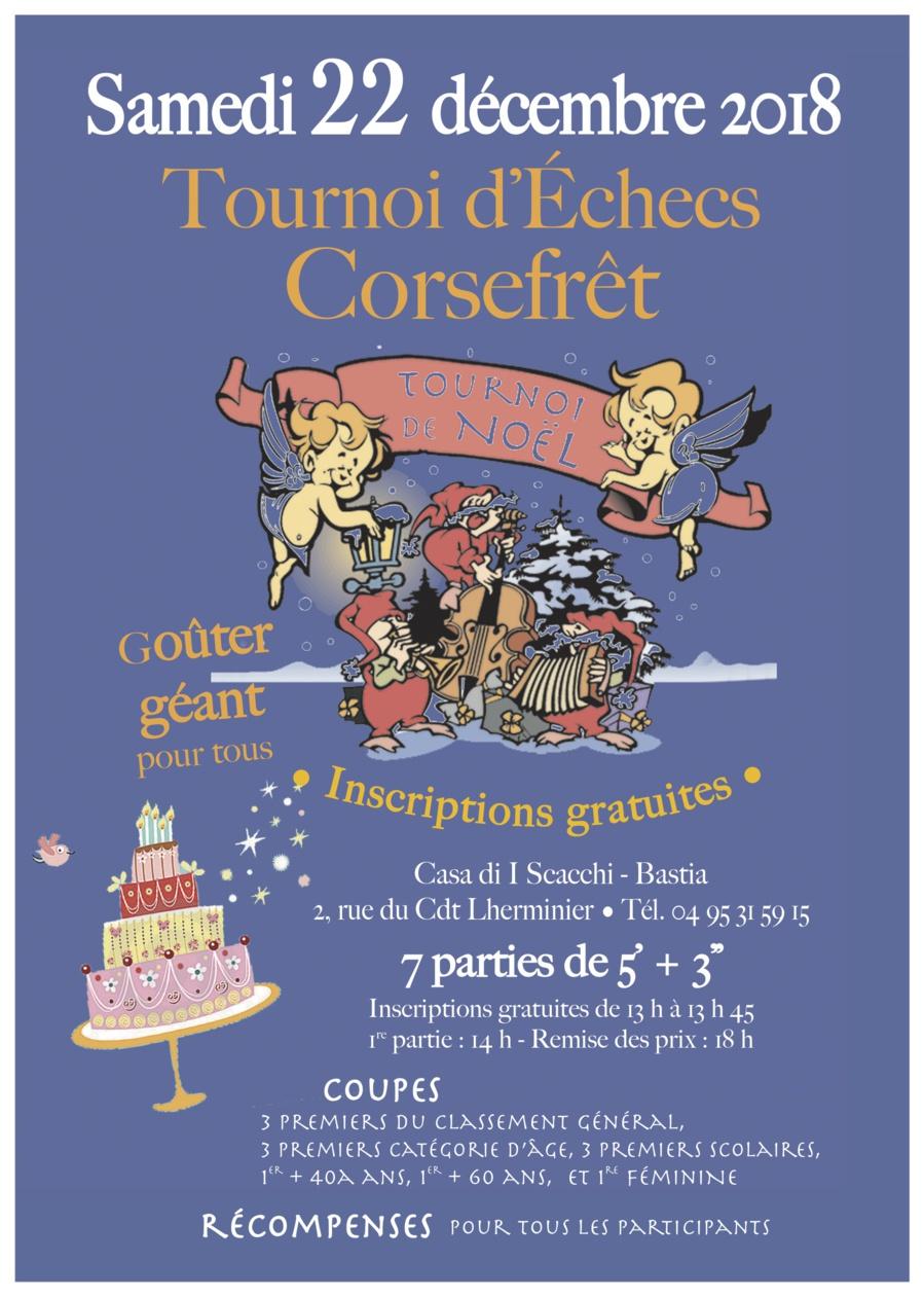 Ghjustre di Natale in tutt'a Corsica !