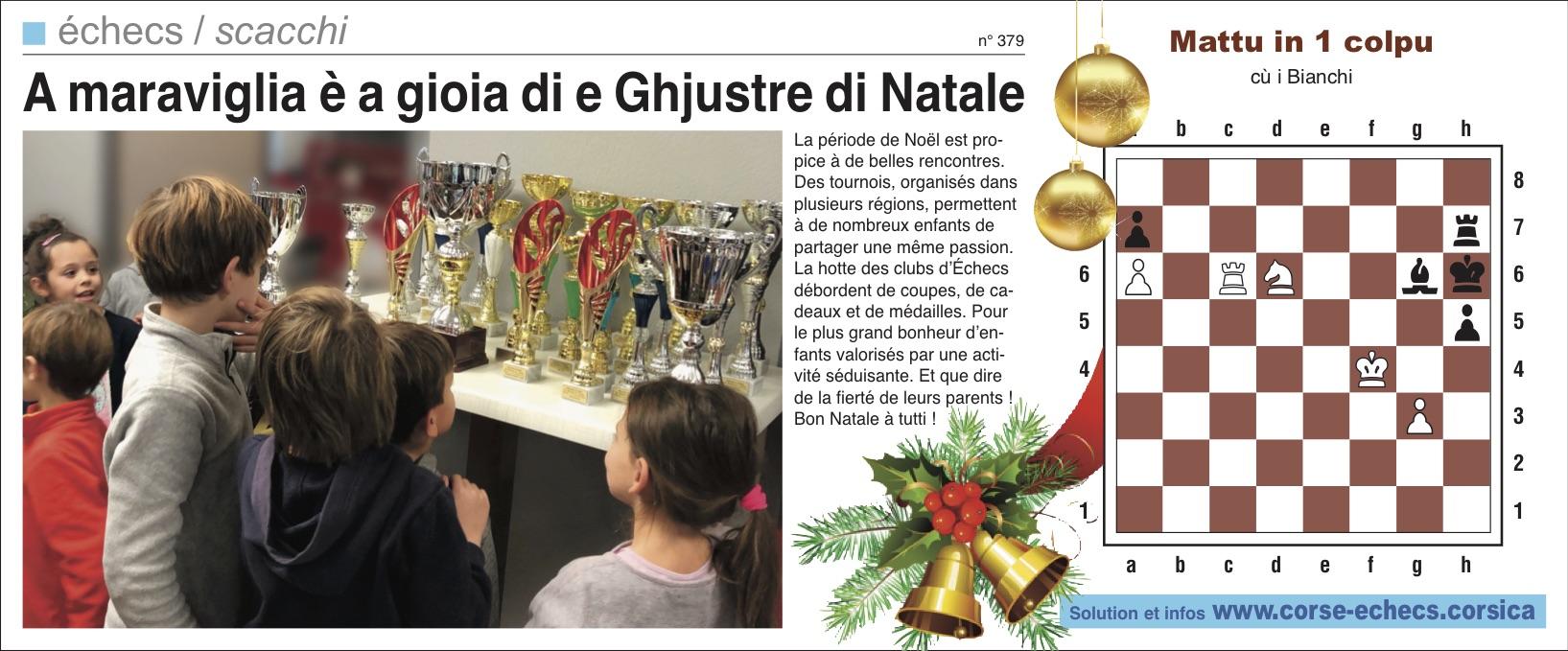 Corse-Matin du 16 décembre 2018