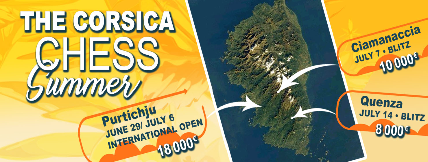 3 major international events this summer with 36,000 € in prizes