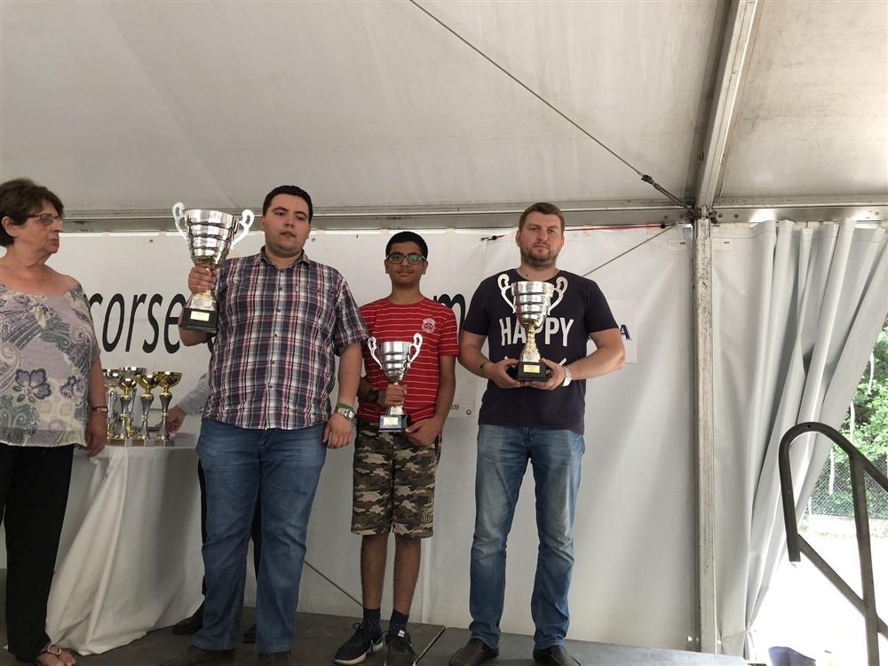 Record de participation pour la 9e édition du Mega-Blitz de Ciamannaccia remportée par Vladimir Onishuk