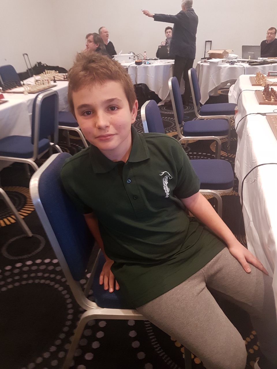 Marc' Andria participates in the British Club Championship: 4 chess league nations !