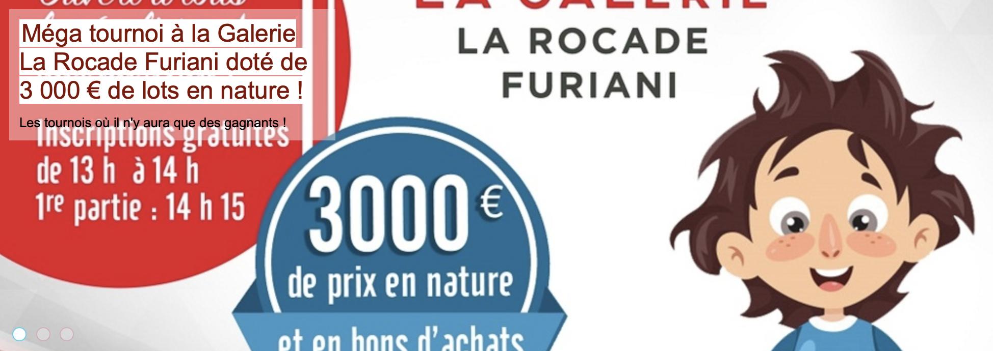 205 joueurs au Blitz Galerie La Rocade à Furiani !