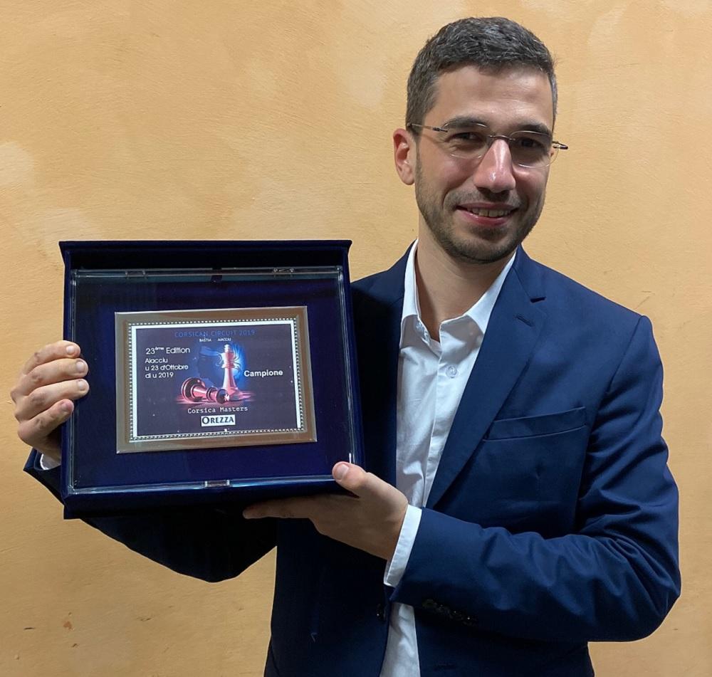 Laurent Fressinet, enfin, vainqueur du Corsica Masters Orezza !