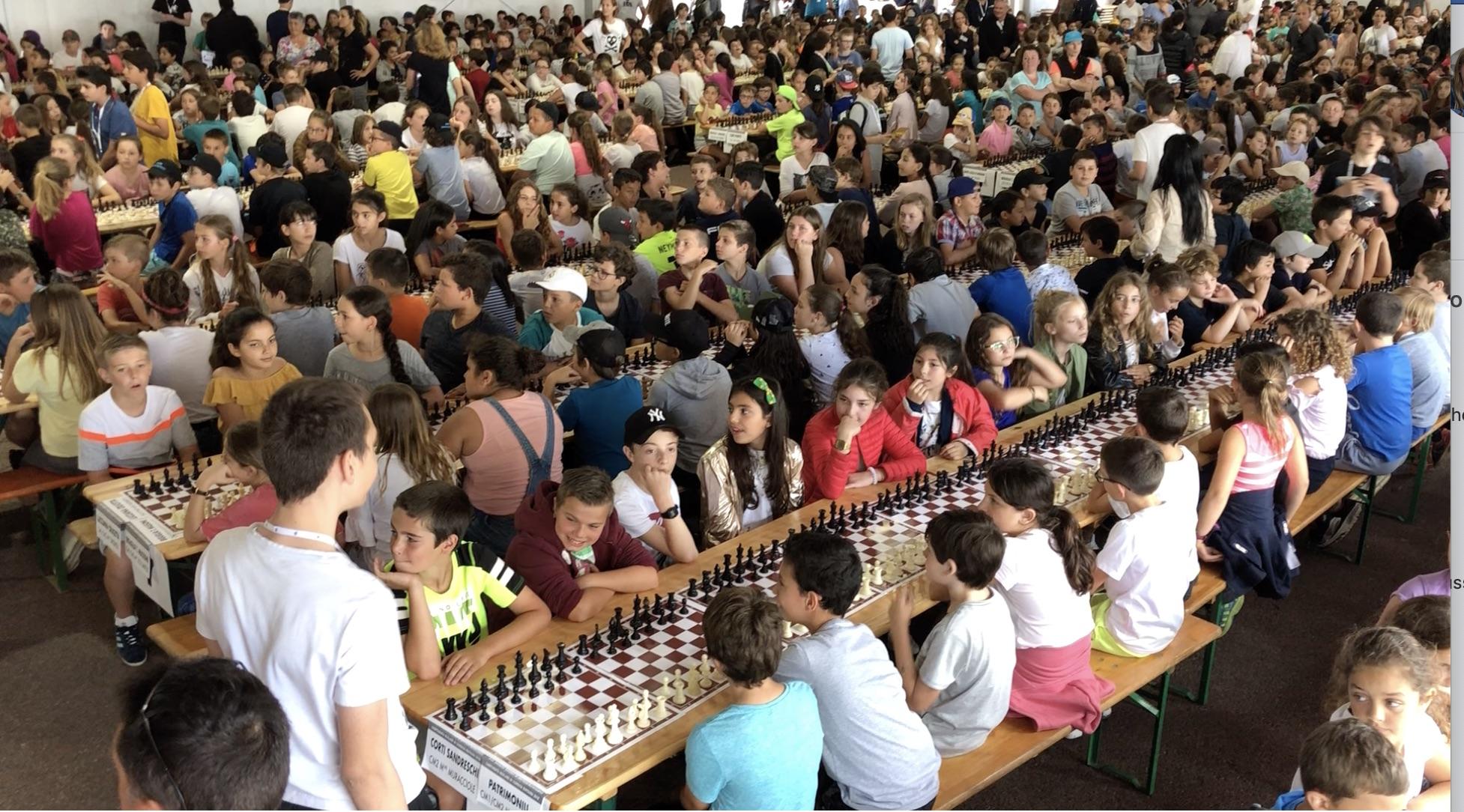 Plus de 4000 scolaires en compétition la semaine prochaine !