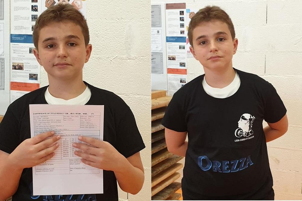 Marc'Andria a reçu sa 3e norme, cet après-midi à Metz