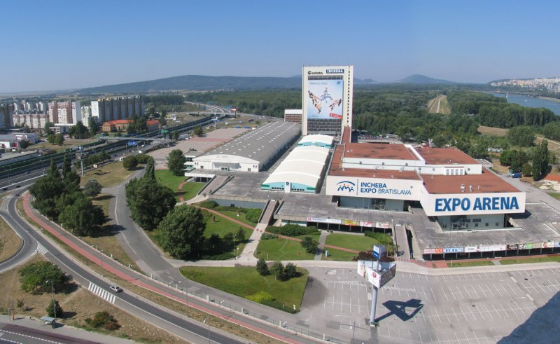 Incheba Expo Arena, Bratislava