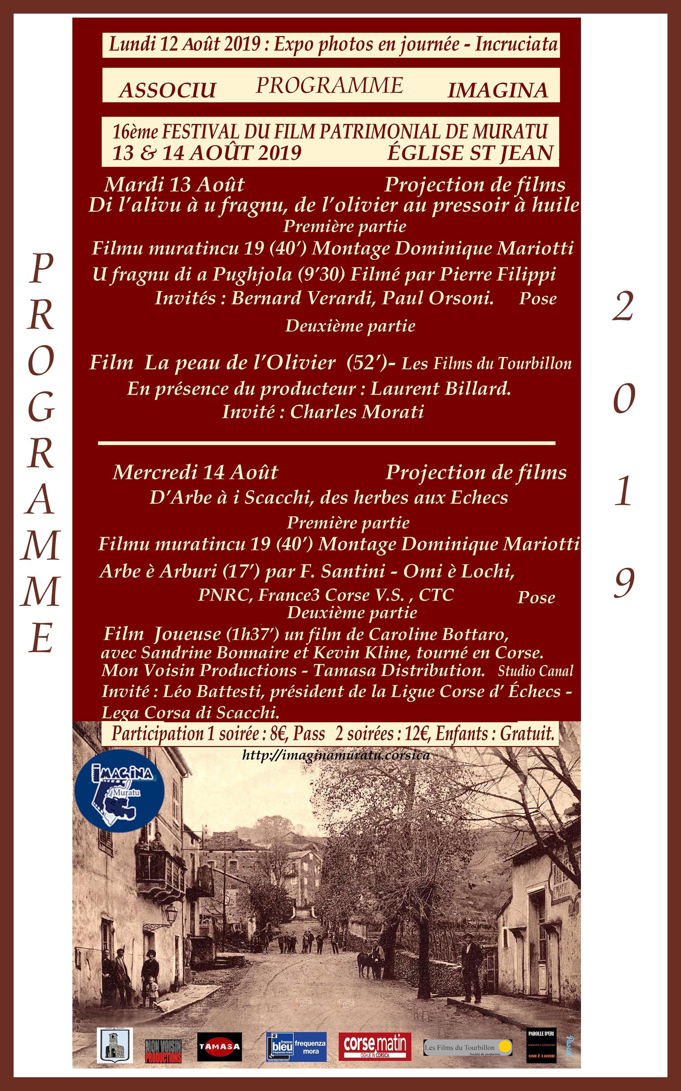 """Le film """"Joueuse"""" diffusé au festival du Film Patrimonial de Muratu le mercredi 14 août à 21h"""