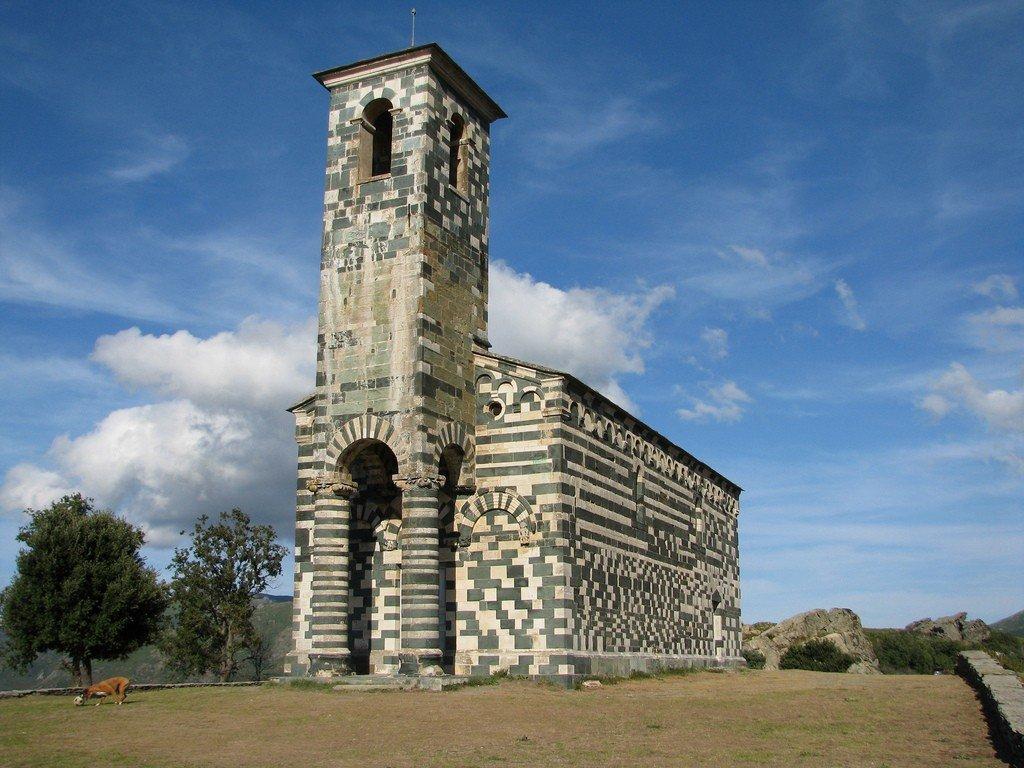 La projection aura lieu dans l'Eglise San Mighele di Muratu