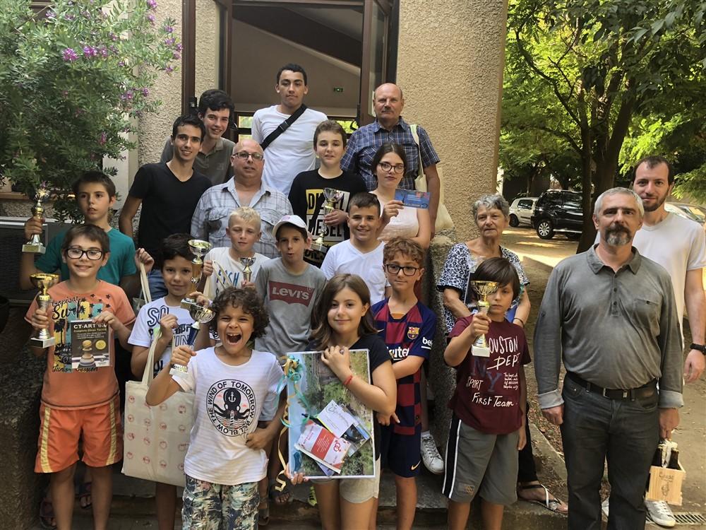 Le Corsica Chess Club mobilisé au profit de Cap Corse Handicap