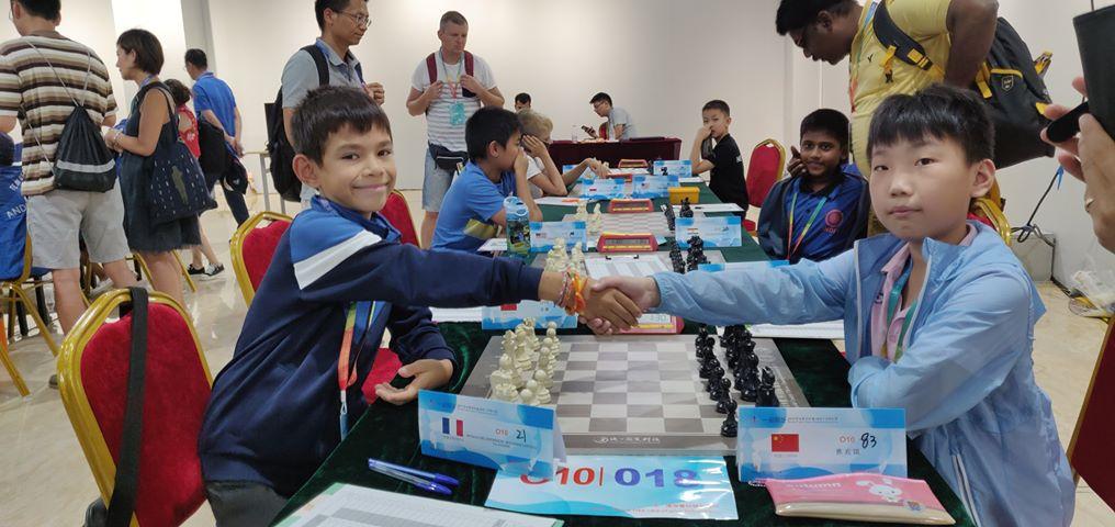 Le Bastiais Apollo Deladerriere aux championnats du monde en Chine