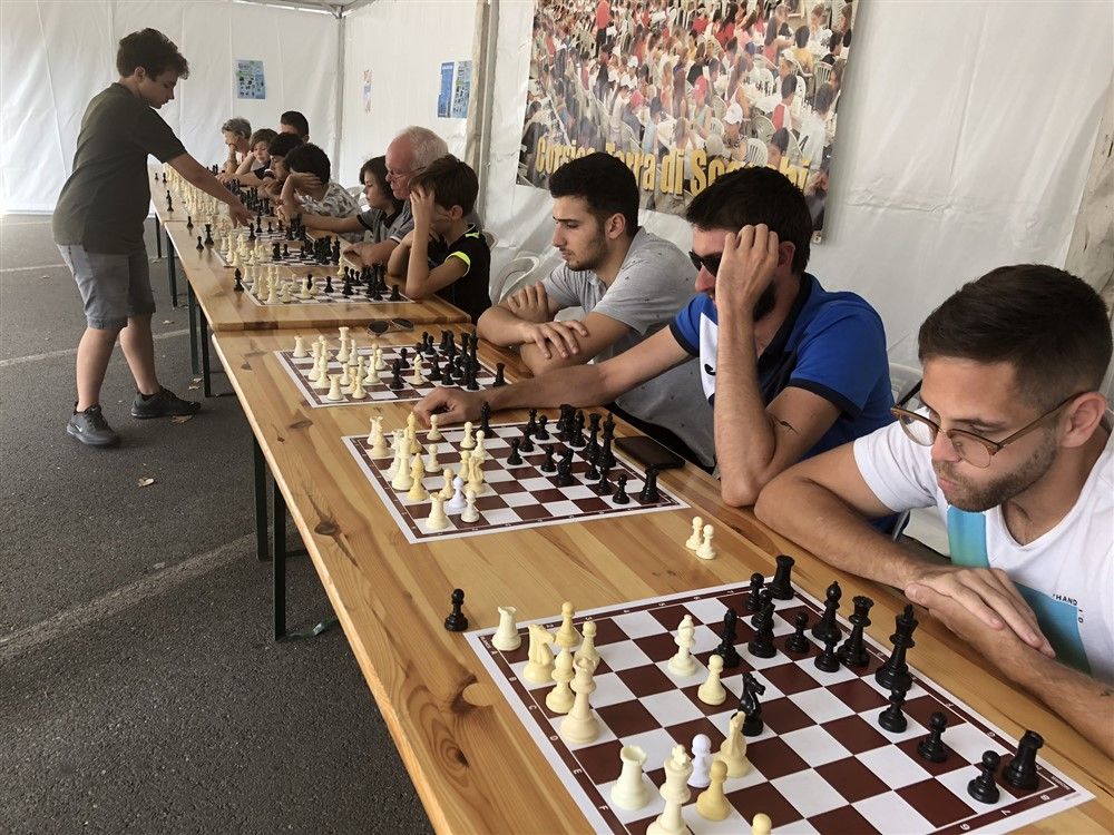 Fête du sport : belle affluence au stand du Corsica Chess Club